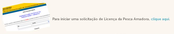 como tirar licença de pesca amadora passo 1 no pescanorio.com.br