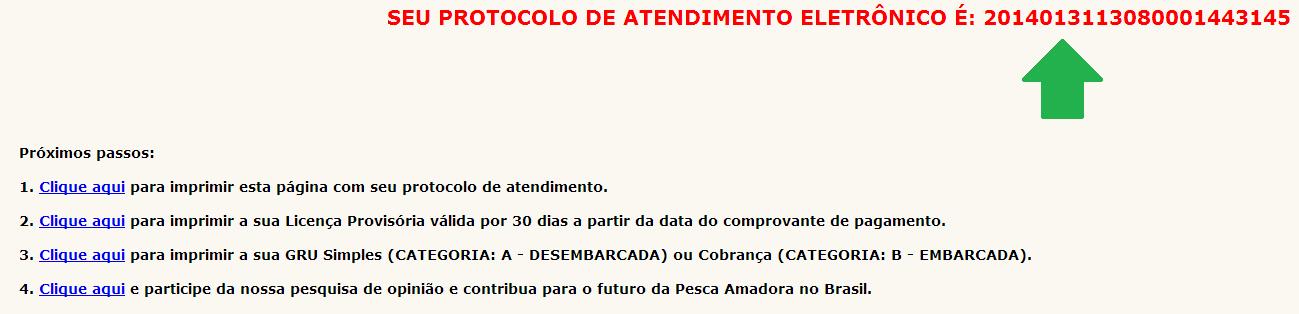 como tirar licença de pesca passo no 5.1.2 no pescanorio.com.br